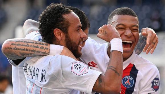 PSG se metió a semifinales de la Champions League por segunda temporada consecutiva. (Foto: AFP)