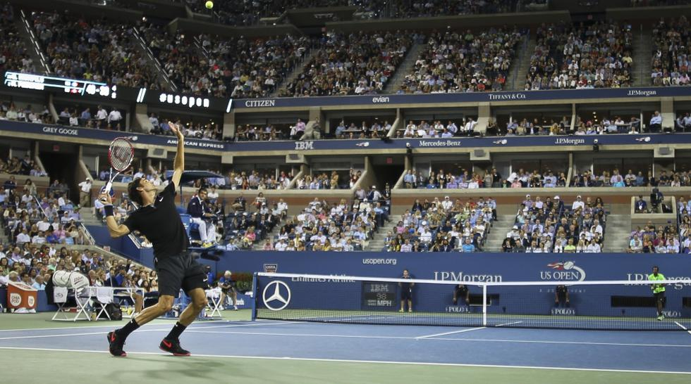 US Open: así sufrió Monfils con los disparos de Roger Federer - 12