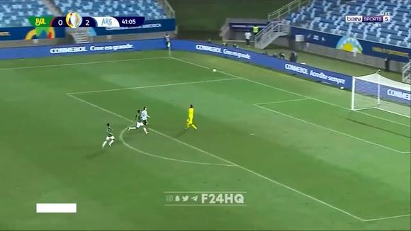 Lionel Messi scored 3-0 in Argentina vs.  Bolivia for the Copa América 2021. (Video: beIN Sports)