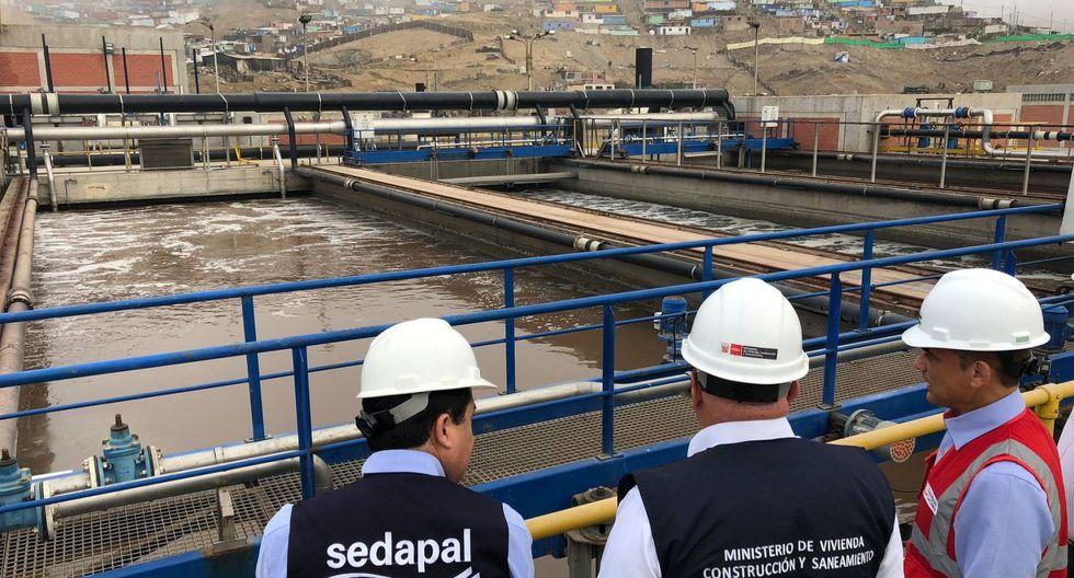 La PTAR Taboada se ubica al norte de Lima. (Foto: Contraloría)