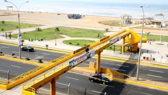 Costa Verde: Emape reparó dos puentes peatonales en Magdalena