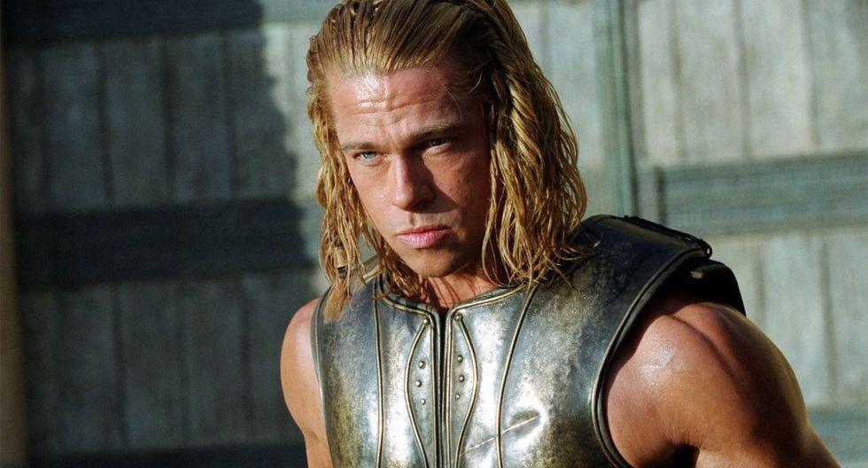 """En 2004 dio vida a Aquiles en """"Troya"""", cuya trama está basada en la obra griega La Ilíada. (Foto: Difusión)"""
