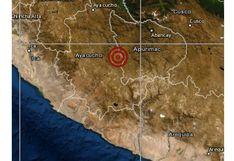 Ayacucho: sismo de magnitud 4,5 se reportó en Soras esta tarde, señaló el IGP