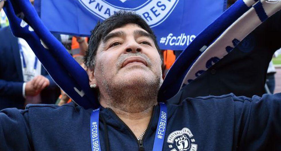 Diego Maradona, exfutbolista argentino. (Foto: EFE)