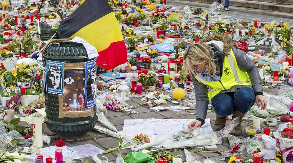 Musulmanes honran a víctimas de ataques terroristas de Bruselas - 8