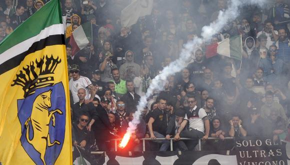 Juventus-Torino: bomba deja diez heridos y uno de gravedad