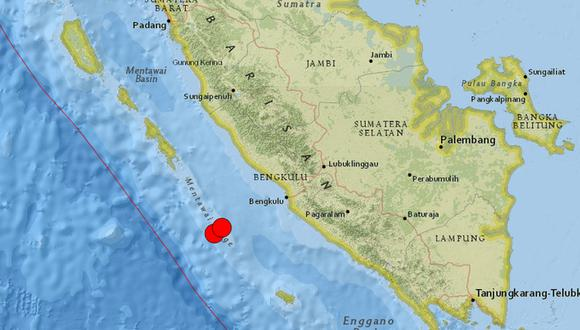 Los dos sismos se registraron con seis minutos de intervalo. (Foto: Twitter)
