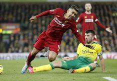 Sadio Mané, en su regreso, le dio el triunfo al Liverpool por 1-0 en su visita a Norwich