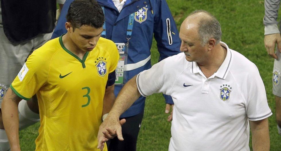 Thiago Silva se despidió del Mundial con estas palabras