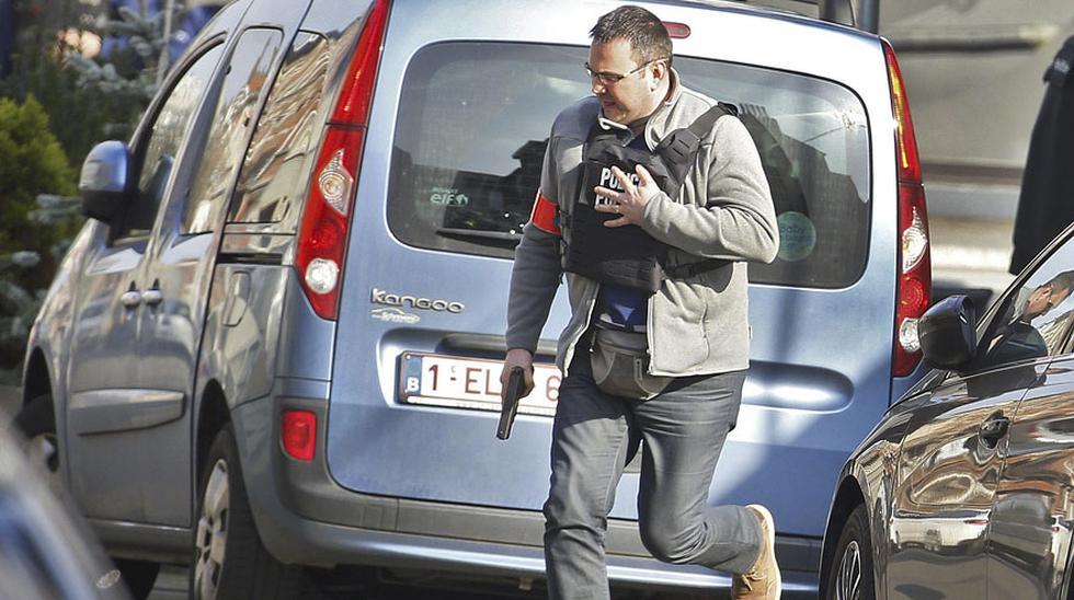 Bruselas: Redada antiterrorista deja varios policías heridos - 4