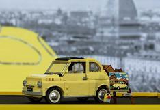 Fiat 500: el compacto clásico italiano llega al mundo de Lego   FOTOS