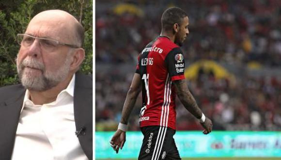 """Gustavo Guzmán admitió que fue un error contratar a Alexi Gómez en Atlas. """"La regué. Qué más puedo decir"""", indicó. También explicó que el peruano presenta dos problemas a los cuales no les prestó atención. (Foto: ESPNMX)"""