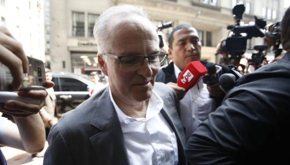 Empresario Carlos Rodríguez Pastor fue citado por el fiscal José Domingo Pérez (Foto: Renzo Salazar)