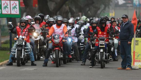 Desfile de motos recorrerá calles del Cercado y de 8 distritos