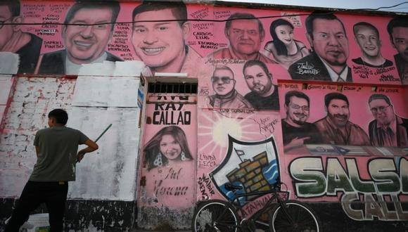 Las caras de Atahualpa, ubicadas en el Callao, fue una iniciativa de Juan José Vinces Manzanares, más conocido como 'Pussy'. El último 10 de octubre fue asesinado de tres disparos. (Foto:César Bueno /@photo.gec)