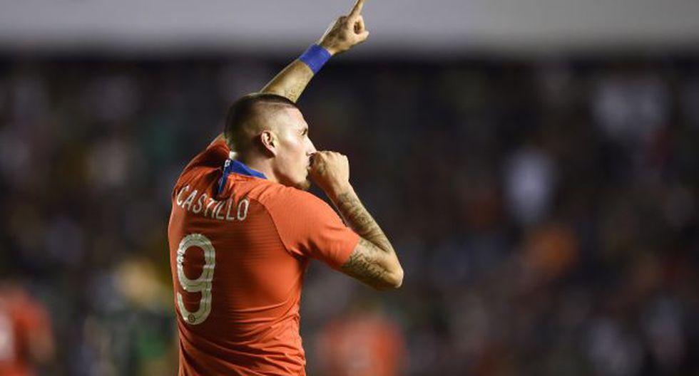 Nicolás Castillo participó en tres partidos de la reciente edición de la Copa América. (Foto: AFP)