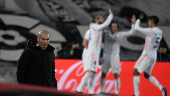 Zidane podría dejar el banquillo del Real Madrid al final de la temporada. (Foto: AFP)