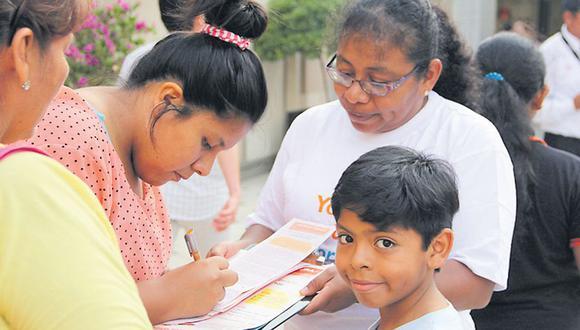 Un Pacto de Ternura por los niños del Perú