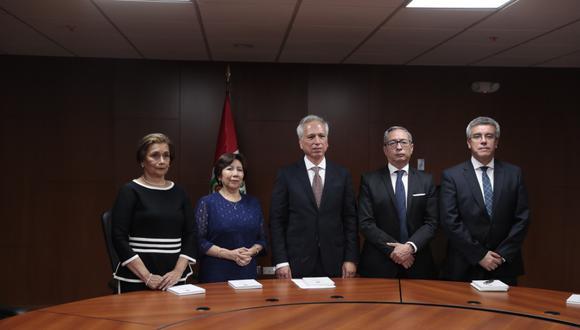 """Primer titular de la JNJ sostuvo que empezarán a trabajar para la """"reforma del sistema de justicia"""". (Foto: Hugo Pérez)"""