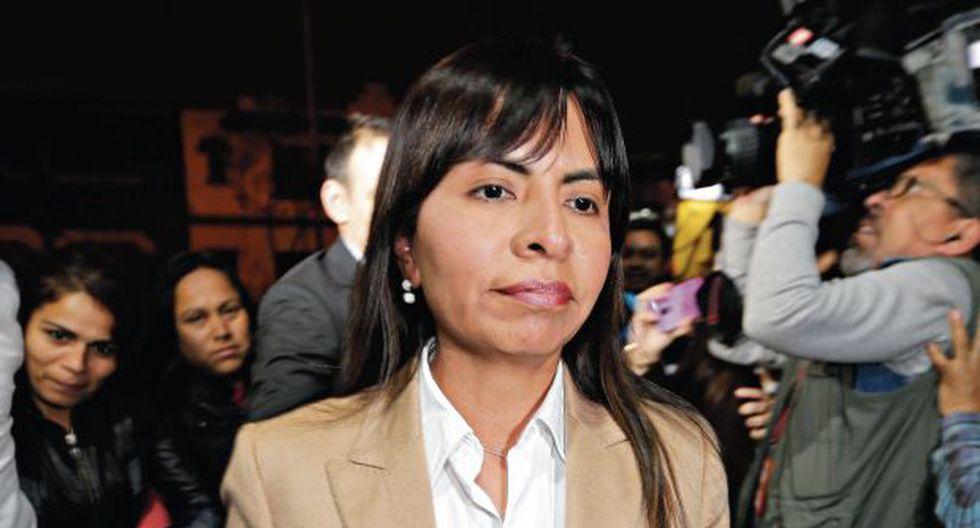 Giulliana Loza reconoce que el pedido de prisión preventiva sea, probablemente, el siguiente paso en el proceso. (Foto: Alonso Chero)