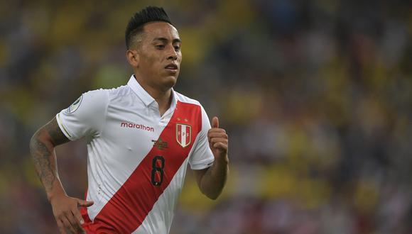 Cueva participó en la Copa América 2019. (Foto: AFP)
