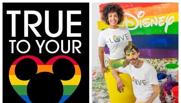 Disney ha organizado actividades conmemorativas al Día Internacional del Orgullo - este 28 de junio- en toda la región. En el Perú, un grupo de comunicadores e influencers miembros de la comunidad grabaron un video celebrando la efeméride, entre ellos la activista y modelo Javiera Arnillas y el comediante Adriano Canella (Imágenes: © Disney/ Omar Lucas).