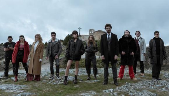 Así ha quedado el equipo del Profesor en la nueva temporada (Foto: La casa de papel / Netflix)