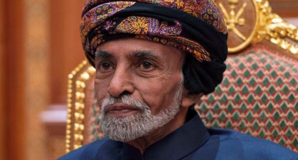 Qabús bin Said fue el hombre fuerte de Omán durante 50 años. (Reuters).