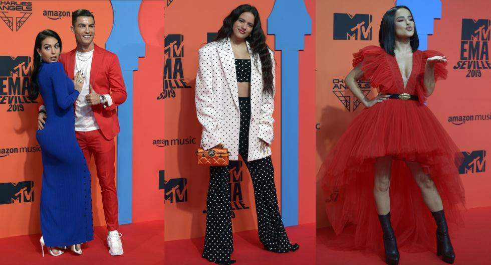 Recorre la galería y entérate cuáles fueron los looks de las celebridades que asistieron a los MTV EMA 2019. (Foto: AFP