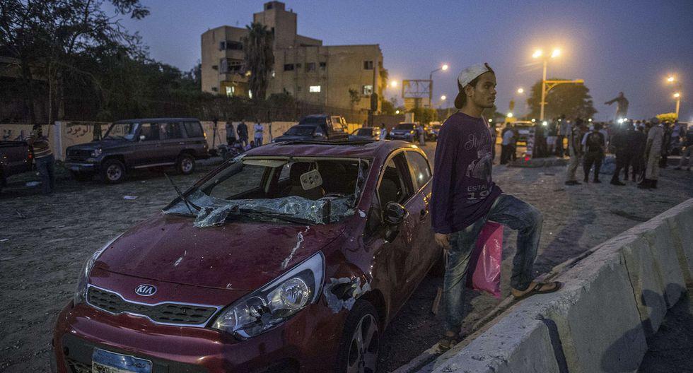 Egipto: Estado Islámico hace estallar coche bomba en El Cairo - 8