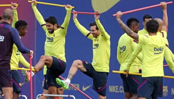 Lionel Messi se ha perdido una semana de entrenamiento. (Foto: AFP)
