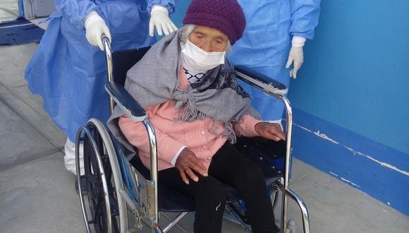 Melchor ingresó al Hospital II de Essalud. Once días después fue dada de alta.