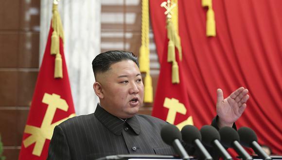 El líder de Corea del Norte, Kim Jong-un. AP