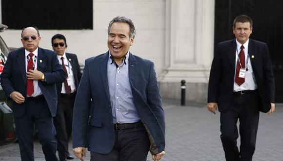 Francisco Petrozzi pasó de ser congresista de Fuerza Popular a ministro de Estado y ahora agregado cultura del Perú en Alemania (Foto: Renzo Salazar / GEC)