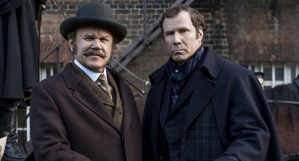 """""""Holmes & Watson"""" es la peor película de 2018 en la 39 edición de los Razzies. (Foto: Difusión)"""