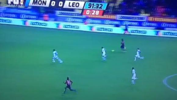 Se iba por gol de contragolpe a los 91' pero pasó esto (VIDEO)