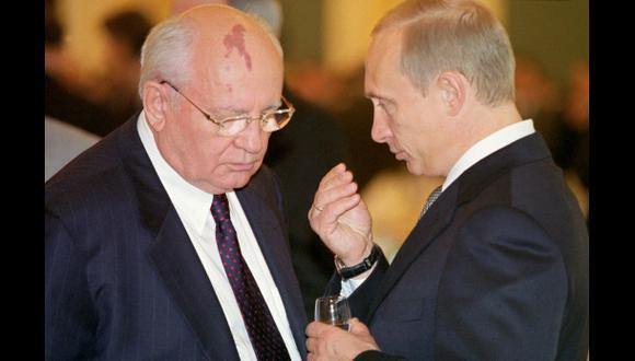 Gorbachov intercederá por Putin en su encuentro con Merkel