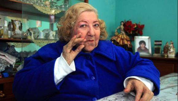 Esmeralda Checa murió esta tarde a los 87 años