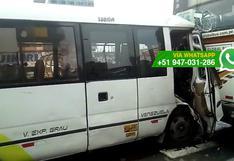 'Chosicano' volvió a protagonizar accidente de tránsito