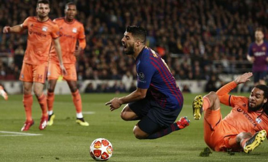 Barcelona venció 5-1 al Lyon y accedió a los cuartos de la Champions. (Foto: AFP)
