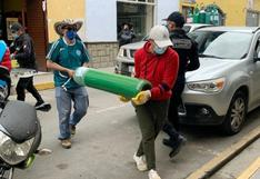 Cajamarca: sacerdote reparte oxígeno medicinal a pacientes en las zonas rurales