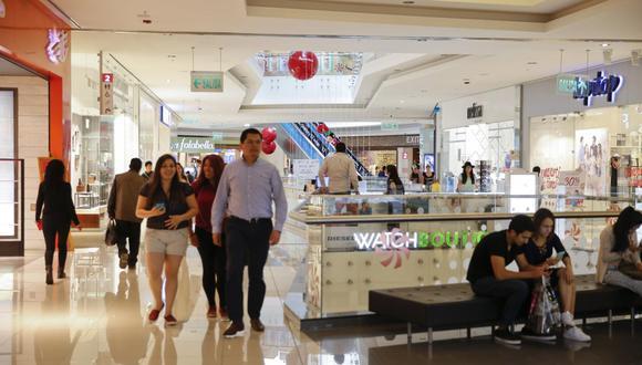 La industria de centros comerciales  mostraría en el consolidado del 2019 un incremento de 3%, sin considerar ampliaciones ni nuevos 'malls'.