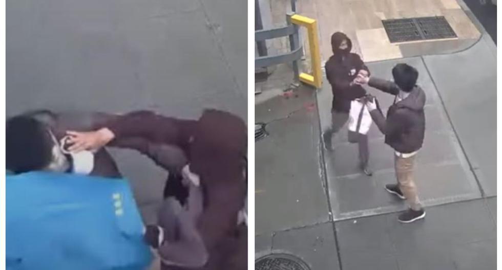 Imágenes tomadas del video de YouTube subido por la Policía de Seattle.