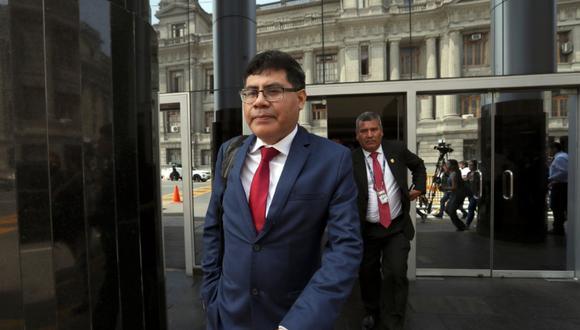 El fiscal Germán Juárez Atoche sustentó los indicios de desbalance patrimonial de Nadine Heredia por aportes del 2006. (Foto: Rolly Reyna)