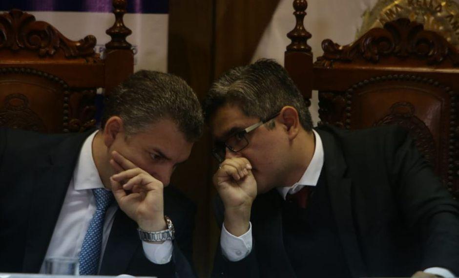 El fiscal José Domingo Pérez pidió a Rafael Vela que se tomen medidas para tener un mejor registro de quienes ingresen a las oficinas del equipo especial. (Foto: GEC)