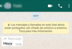 """WhatsApp viral: ¿se puede reenviar un mensaje sin que aparezca la etiqueta """"reenviado""""?"""