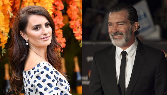 Globos de Oro 2019. Penélope Cruz y Antonio Banderas, dos de los actores españoles más internacionales. Foto: Agencias.