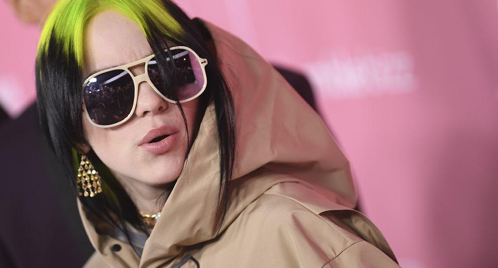 Billie Eilish le pide a youtubers que dejen de imitarla. (Foto: AFP)