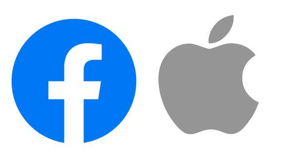 Facebook y Apple. (Difusión)