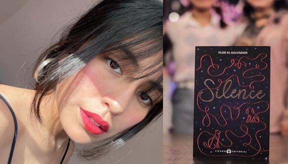 Flor M. Salvador, es una escritora mexicana, que vino al Perú para presentar su más reciente libro denominado 'Silence'. (Foto: Instagra @flormsalvador)